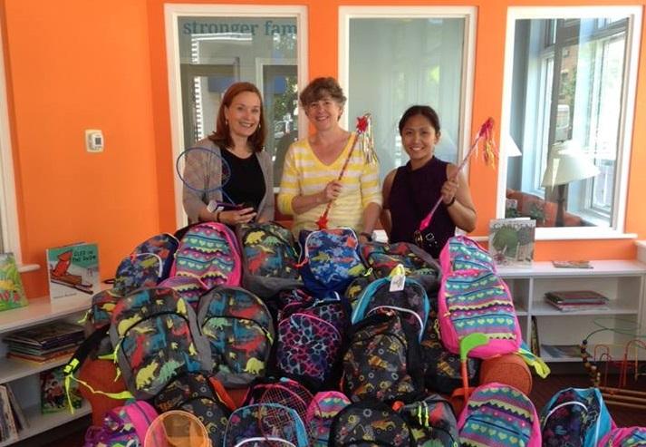 Bright Horizons- backpacks