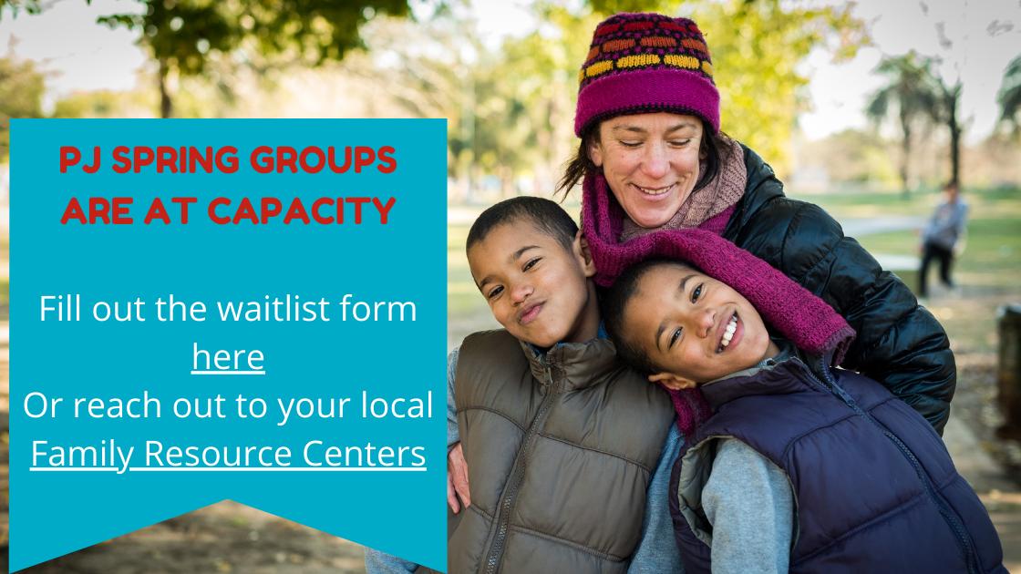 Groups at capacity (1)