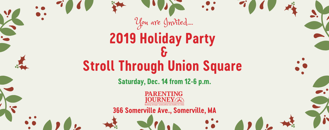 2019 Parenting Journey Holiday Party & Stroll Through Union Square
