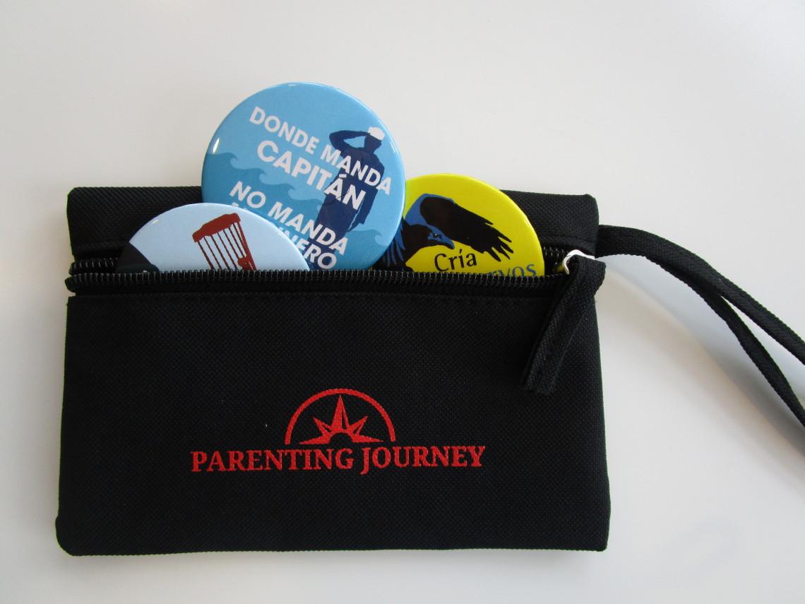 PJ-1 Ice-Breaker Buttons (Spanish) - Parenting Journey