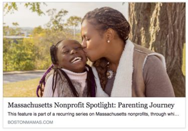 Boston Mama's Massachusetts Nonprofit Spotlight: Parenting Journey