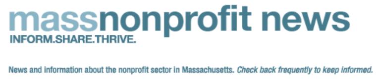 massnonprofit news logo