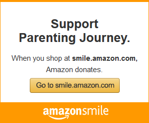 Get more out of your online shopping when you use AmazonSmile. All the same items & prices as Amazon -- and a donation to Parenting Journey for no extra charge!