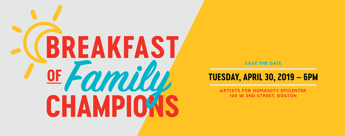 2019 Breakfast of Family Champions logo