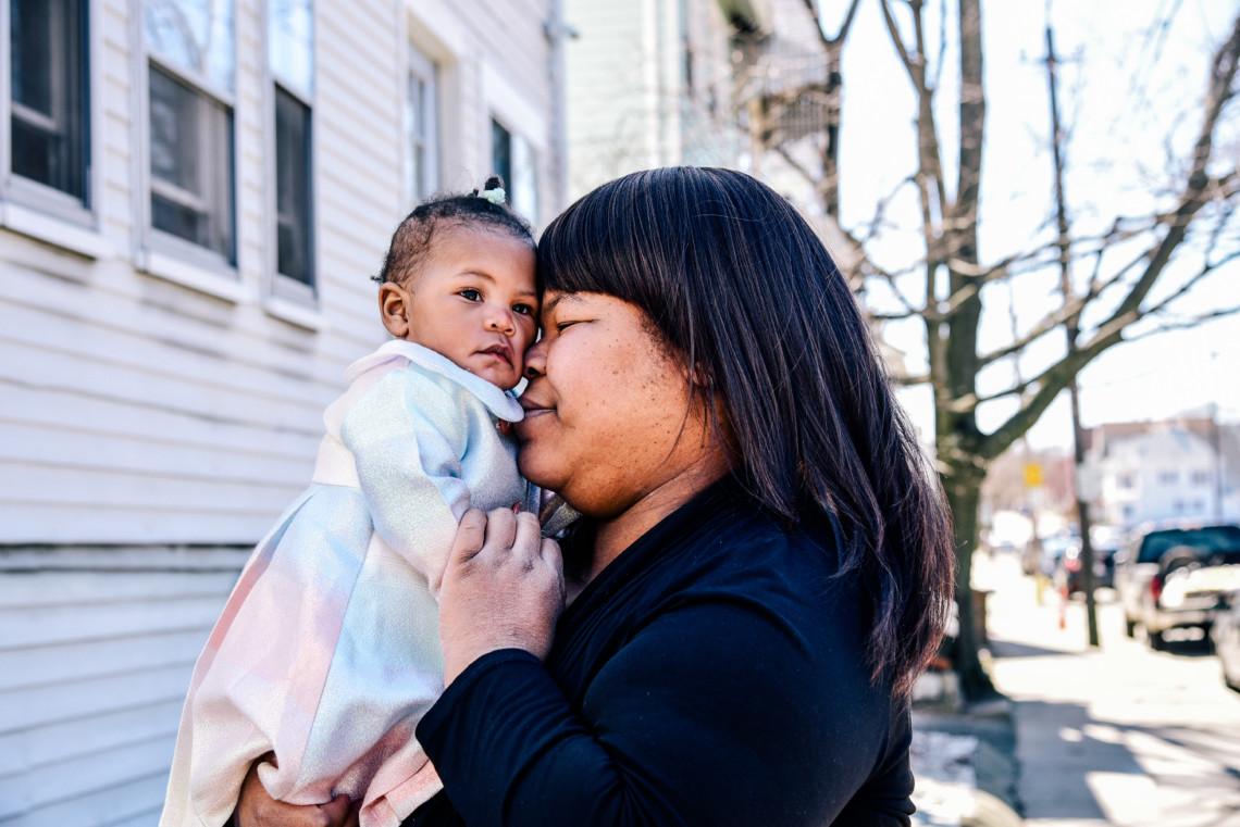 Angela Davis & Daughter